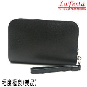 ルイヴィトン セカンドバッグ タイガ バイカル アルドワーズ 黒灰色 M30182 中古(程度極良【美品】)|lafesta-k