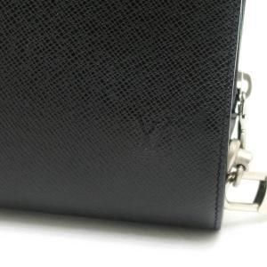ルイヴィトン セカンドバッグ タイガ バイカル アルドワーズ 黒灰色 M30182 中古(程度極良【美品】)|lafesta-k|05
