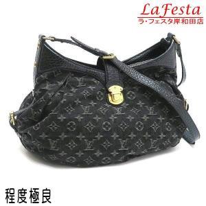 ルイヴィトン ショルダーバッグ モノグラム・デニム ノワール 黒 XS保存袋付き M95608 中古(程度極良)|lafesta-k
