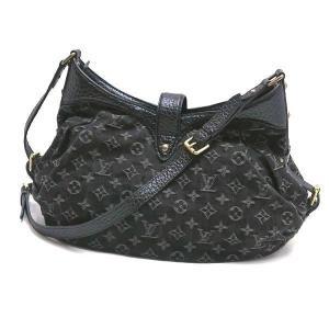 ルイヴィトン ショルダーバッグ モノグラム・デニム ノワール 黒 XS保存袋付き M95608 中古(程度極良)|lafesta-k|02