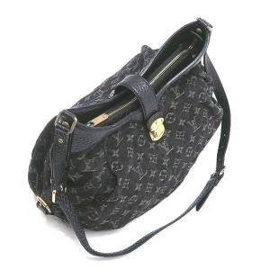 ルイヴィトン ショルダーバッグ モノグラム・デニム ノワール 黒 XS保存袋付き M95608 中古(程度極良)|lafesta-k|03