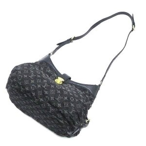 ルイヴィトン ショルダーバッグ モノグラム・デニム ノワール 黒 XS保存袋付き M95608 中古(程度極良)|lafesta-k|05