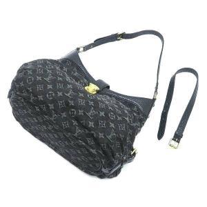 ルイヴィトン ショルダーバッグ モノグラム・デニム ノワール 黒 XS保存袋付き M95608 中古(程度極良)|lafesta-k|06
