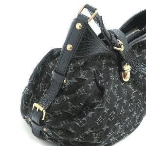 ルイヴィトン ショルダーバッグ モノグラム・デニム ノワール 黒 XS保存袋付き M95608 中古(程度極良)|lafesta-k|08