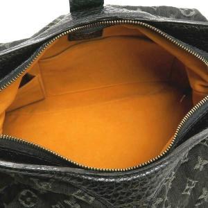 ルイヴィトン ショルダーバッグ モノグラム・デニム ノワール 黒 XS保存袋付き M95608 中古(程度極良)|lafesta-k|09