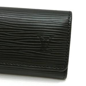 ルイヴィトン 4連キーケース エピ ミュルティクレ4 ノワール 箱付き M63822 中古(程度極良【美品】)|lafesta-k|03