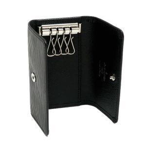 ルイヴィトン 4連キーケース エピ ミュルティクレ4 ノワール 箱付き M63822 中古(程度極良【美品】)|lafesta-k|05