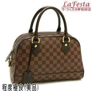 ルイヴィトン ハンドバッグ ダミエ ドゥオモ 保存袋付き N60008 中古(程度極良【美品】)|lafesta-k