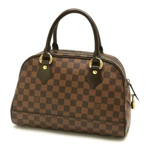 ルイヴィトン ハンドバッグ ダミエ ドゥオモ 保存袋付き N60008 中古(程度極良【美品】)|lafesta-k|02