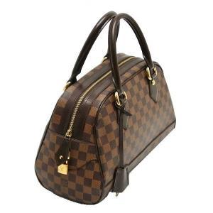 ルイヴィトン ハンドバッグ ダミエ ドゥオモ 保存袋付き N60008 中古(程度極良【美品】)|lafesta-k|03