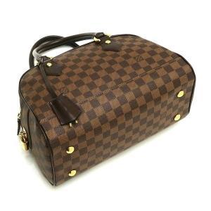 ルイヴィトン ハンドバッグ ダミエ ドゥオモ 保存袋付き N60008 中古(程度極良【美品】)|lafesta-k|04