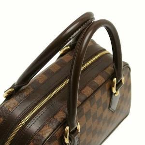 ルイヴィトン ハンドバッグ ダミエ ドゥオモ 保存袋付き N60008 中古(程度極良【美品】)|lafesta-k|05