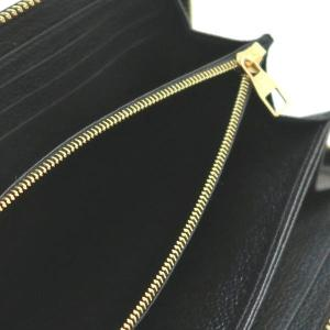 ルイヴィトン 長財布 モノグラム・アンプラント ジッピー・ウォレット ノワール 箱付き M61864 中古(程度極良【美品】) lafesta-k 09