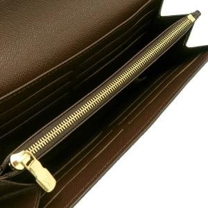 ルイヴィトン 長財布 ダミエ ポルトフォイユ・サラ 箱付き N63209 中古(新品同様)|lafesta-k|05