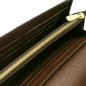 ルイヴィトン 長財布 ダミエ ポルトフォイユ・サラ 箱付き N63209 中古(新品同様)|lafesta-k|06