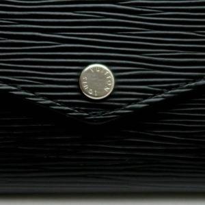 ルイヴィトン 長財布 エピ ポルトフォイユ・サラ ノワール 黒 箱付き M60582 中古(程度良)|lafesta-k|04