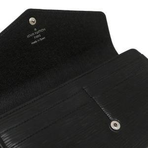 ルイヴィトン 長財布 エピ ポルトフォイユ・サラ ノワール 黒 箱付き M60582 中古(程度良)|lafesta-k|07