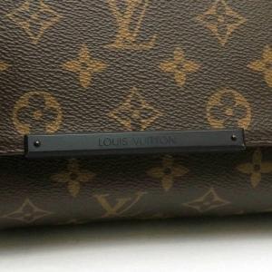 ルイヴィトン ショルダーバッグ モノグラム・マカサー ディストリクトPM 保存袋付き M40935 中古(程度極良)|lafesta-k|07