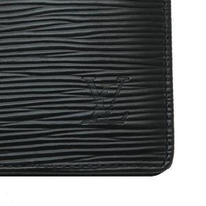 ルイヴィトン 長財布 エピ ポルトフォイユ・ブラザ ノワール 箱付き M66542 中古|lafesta-k|03