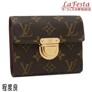 ルイヴィトン コンパクト財布 モノグラム ポルトフォイユ・コアラ 箱付き M58013 中古(程度良)|lafesta-k