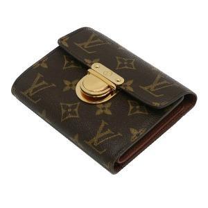 ルイヴィトン コンパクト財布 モノグラム ポルトフォイユ・コアラ 箱付き M58013 中古(程度良)|lafesta-k|03