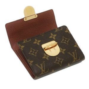 ルイヴィトン コンパクト財布 モノグラム ポルトフォイユ・コアラ 箱付き M58013 中古(程度良)|lafesta-k|05