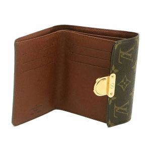 ルイヴィトン コンパクト財布 モノグラム ポルトフォイユ・コアラ 箱付き M58013 中古(程度良)|lafesta-k|06