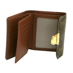 ルイヴィトン コンパクト財布 モノグラム ポルトフォイユ・コアラ 箱付き M58013 中古(程度良)|lafesta-k|07