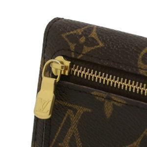 ルイヴィトン コンパクト財布 モノグラム ポルトフォイユ・コアラ 箱付き M58013 中古(程度良)|lafesta-k|09