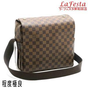 ルイヴィトン ショルダーバッグ ダミエ  ナヴィグリオ ブラウン N45255 中古(程度極良)|lafesta-k