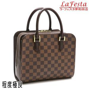 ルイヴィトン ハンドバッグ ダミエ トリアナ N51155 中古(程度極良)|lafesta-k