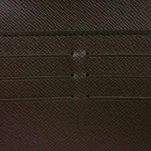 ルイヴィトン 長財布 ダミエ ポルトフォイユ・ノルマンディ 箱付き N61261 中古(程度極良【美品】)|lafesta-k|09