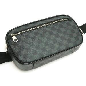 ルイヴィトン ボディバッグ ダミエ・グラフィット アンブレール  保存袋 紙袋付き N41289 中古(新品同様) lafesta-k 04