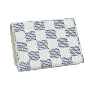ルイヴィトン カードケース ダミエ・アズール アンヴェロップ・カルト ドゥ ヴィジット 箱付き N61746 中古(程度極良)|lafesta-k|02