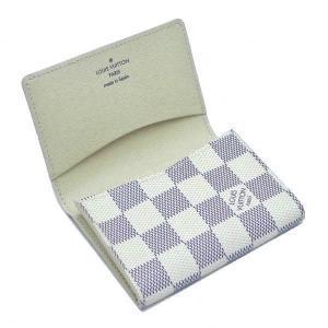 ルイヴィトン カードケース ダミエ・アズール アンヴェロップ・カルト ドゥ ヴィジット 箱付き N61746 中古(程度極良)|lafesta-k|05