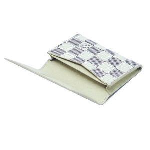 ルイヴィトン カードケース ダミエ・アズール アンヴェロップ・カルト ドゥ ヴィジット 箱付き N61746 中古(程度極良)|lafesta-k|06