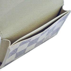 ルイヴィトン カードケース ダミエ・アズール アンヴェロップ・カルト ドゥ ヴィジット 箱付き N61746 中古(程度極良)|lafesta-k|07