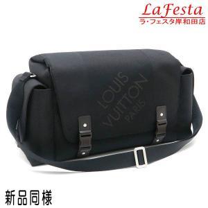 ルイヴィトン ショルダーバッグ ダミエ・ジェアン ベリエ ノワール 黒 保存袋付き M93076 中古(新品同様)|lafesta-k