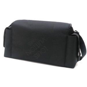 ルイヴィトン ショルダーバッグ ダミエ・ジェアン ベリエ ノワール 黒 保存袋付き M93076 中古(新品同様)|lafesta-k|02
