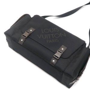 ルイヴィトン ショルダーバッグ ダミエ・ジェアン ベリエ ノワール 黒 保存袋付き M93076 中古(新品同様)|lafesta-k|04