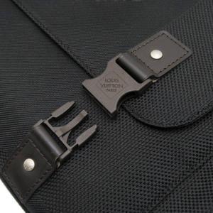 ルイヴィトン ショルダーバッグ ダミエ・ジェアン ベリエ ノワール 黒 保存袋付き M93076 中古(新品同様)|lafesta-k|08