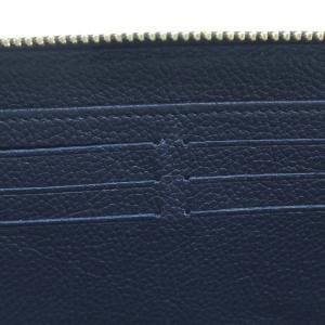 ルイヴィトン 長財布 モノグラム・アンプラント ジッピー・ウォレット マリーヌルージュ 箱付き M62121 中古(程度極良)|lafesta-k|09
