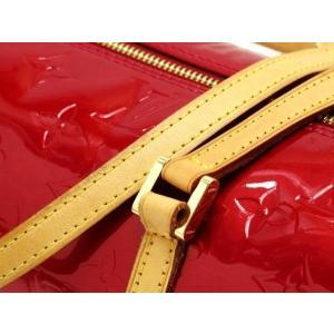 ルイヴィトン ハンドバッグ モノグラム・ヴェルニ ベッドフォード ポム・ダムール M91986 中古(程度極良)|lafesta-k|06