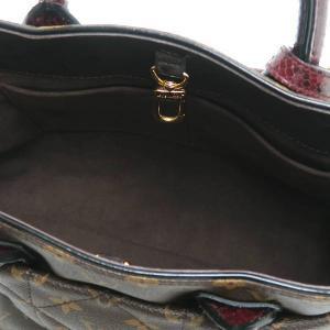 ルイヴィトン 2Wayバッグ モノグラム・エトワール エキゾチックトートMM パイソン オーストリッチ 保存袋付き N90311 中古(程度極良【美品】)|lafesta-k|07