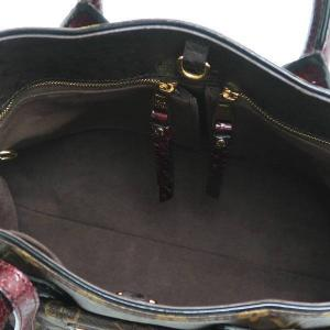 ルイヴィトン 2Wayバッグ モノグラム・エトワール エキゾチックトートMM パイソン オーストリッチ 保存袋付き N90311 中古(程度極良【美品】)|lafesta-k|08