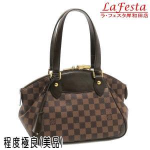 ルイヴィトン ショルダーバッグ ダミエ ヴェローナPM 保存袋付き N41117 中古(程度極良【美品】)|lafesta-k