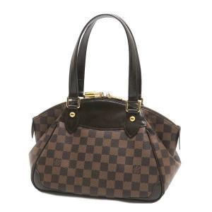 ルイヴィトン ショルダーバッグ ダミエ ヴェローナPM 保存袋付き N41117 中古(程度極良【美品】)|lafesta-k|02