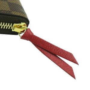 ルイヴィトン 長財布 ダミエ ポルトフォイユ・クレマンス 内側 スリーズ 赤系 箱付き N60534 新品|lafesta-k|04