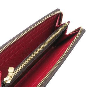 ルイヴィトン 長財布 ダミエ ポルトフォイユ・クレマンス 内側 スリーズ 赤系 箱付き N60534 新品|lafesta-k|05