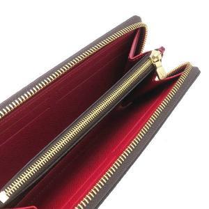 ルイヴィトン 長財布 ダミエ ポルトフォイユ・クレマンス 内側 スリーズ 赤系 箱付き N60534 新品|lafesta-k|06
